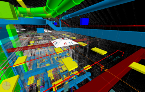 laser scan and MEP BIM 2